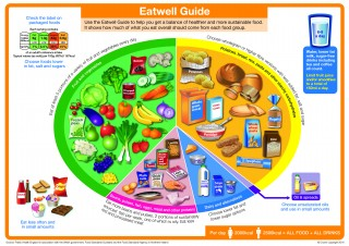NEW Eatwell Guide released by Public Health England