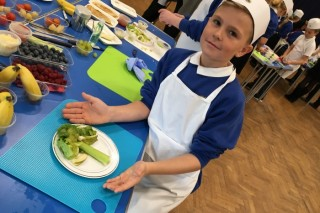 Schools serve up Art on a Plate for International Chef's Day