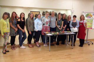 School staff get Phunky training in Copeland, Cumbria