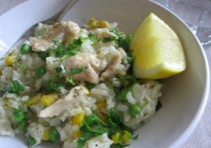 Lemony Chicken Risotto_1