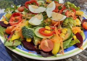Rainbow salad 1